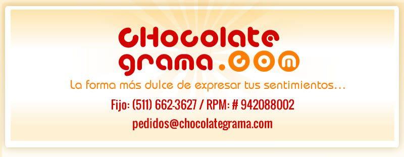 Mensajes de Chocolate, Regalos con Chocolate, Delivery de Regalos