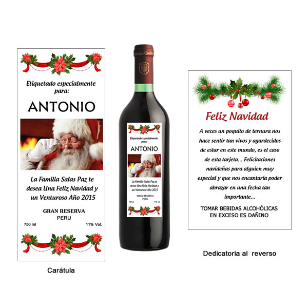 licores personalizados, vinos personalizados, vinos con foto, pisco personalizado, lima peru