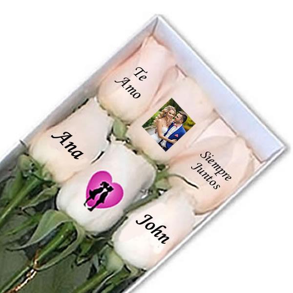 rosa, personalizados, amor, fotos, regalos peru, rosas personalizadas, rosas con mensajes