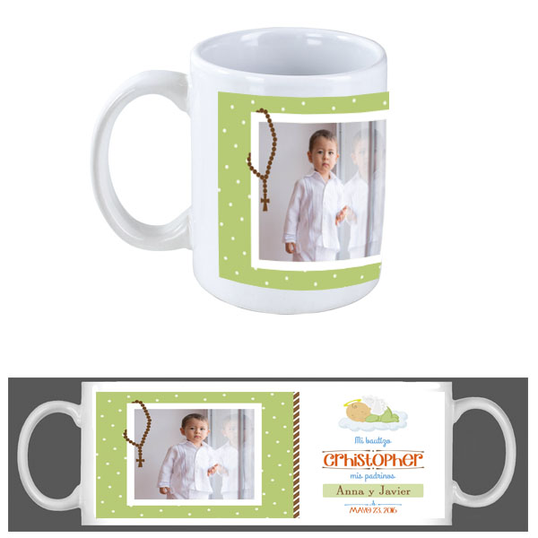 tazas personalizadas, tazas para bautismo, tazas para comunion, lima, peru
