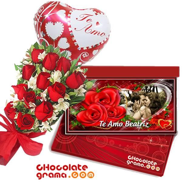 Regalos para enamorados, delivery de regalos, regalos con rosas y chocolates