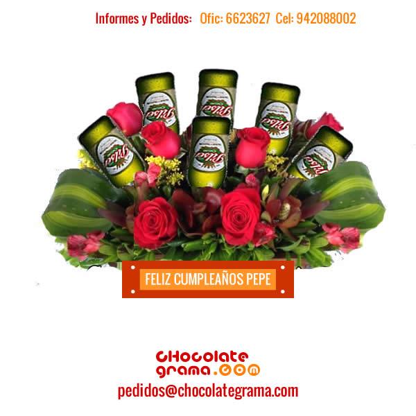 Regalos para Hombres, Detalles para el, Delivery de Regalos, Arreglos florales, Regalos para Enamorados