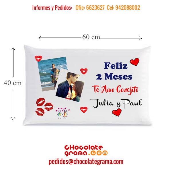 almohadas personalizadas, almohadas con diseño, almohadas de amor, almohadas de cumpleaños, regalos peru, regalos para enamorados.