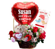 flores, regalos para ella, peluches, globos