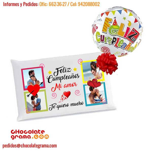 regalos para enamorados, regalos para cumpleaños, regalos delivery, almohadas con fotos