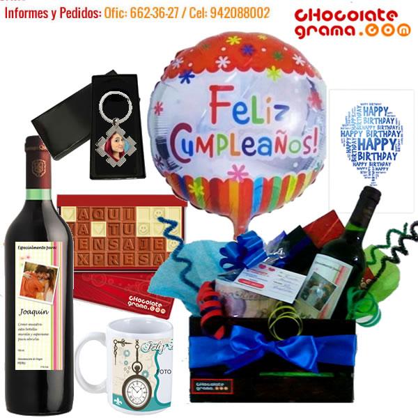 regalos de cumpleaños, combos para cumpleaños, regalitos para cumpleaños, regalos para el, delivery de regalos
