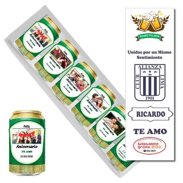 Cerveza personalizada, ramo pilsen personalizado, regalos persaonalizados peru, lima, amor, enamorados, cumpleaños, aniversario