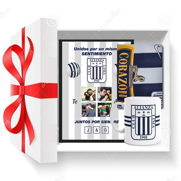 regalos para el, regalos para hombres, detalles de amor, detalles de Alianza Lima