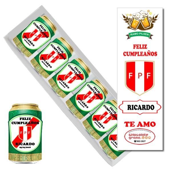Ramo pilsen de seleccion peruana 2018, latas de cerveza personalizada con seleccion de peru