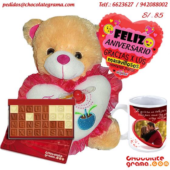 regalo de aniversario, detalles para enamorados, peluches, tazas personalizadas