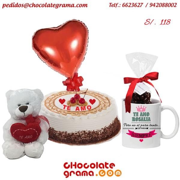 regalos de amor, regalos para ella, peluches, tazas personalizadas, torta de amor