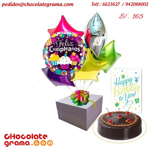 regalos de cumpleaños, globos de cumpleaños, tortas