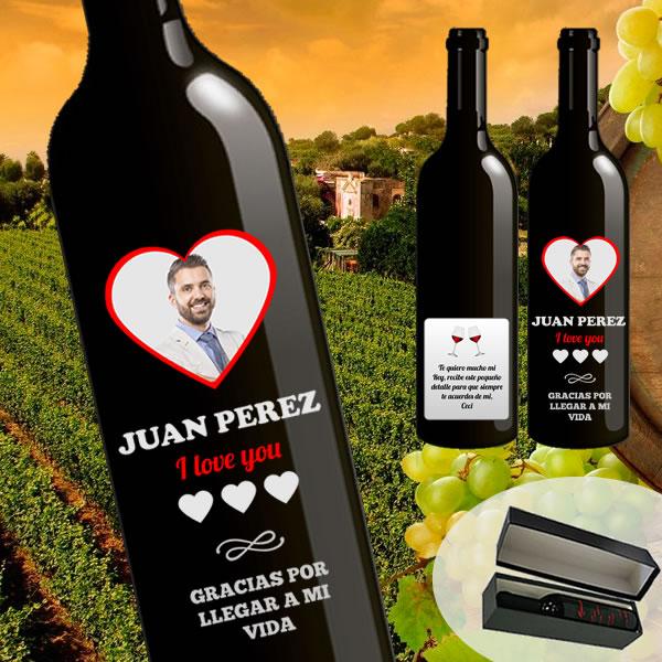 Vino personalizado peru, vino con mensaje peru, vino con dedicatoria, vino con etiqueta personalizada, vino personalizado delivery peru