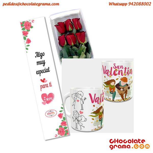regalos de san valentin, regalos para ella, rosas rojas, tazas personalizadas