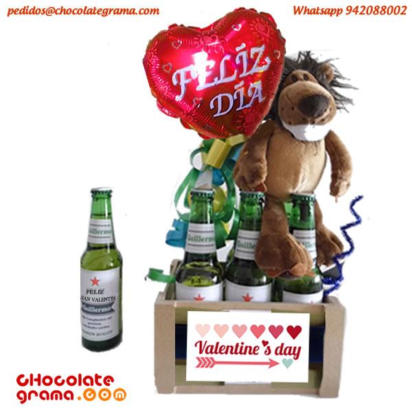 regalos de san valentin, combo de cervezas, regalos para enamorados