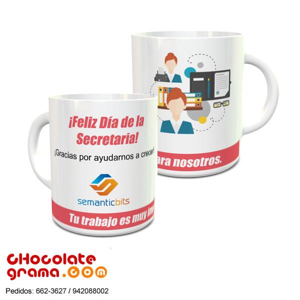 Regalos para el dia de la secretaria, lima, peru, tazas con logo para secretarias, tazas corporativas para secretarias, regalos empresariales