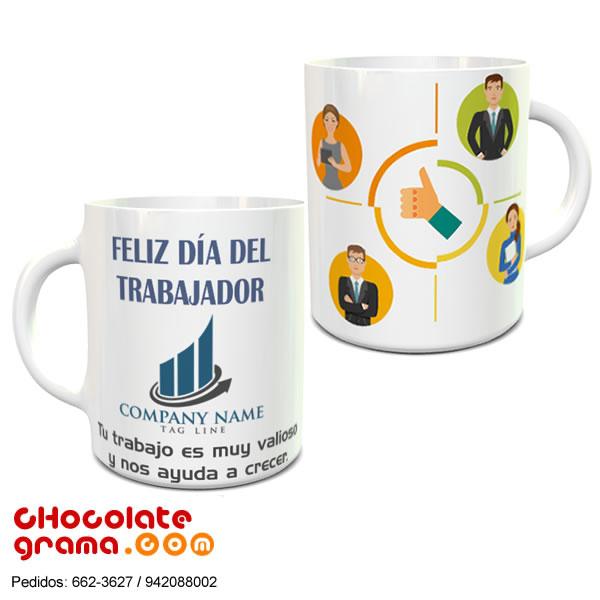 Regalos para el dia del trabajo, Regalos para el dia del trabajador, regalos para el 1 de mayo, lima, peru, tazas con logo para trabajadores, tazas corporativas para empleados, regalos empresariales