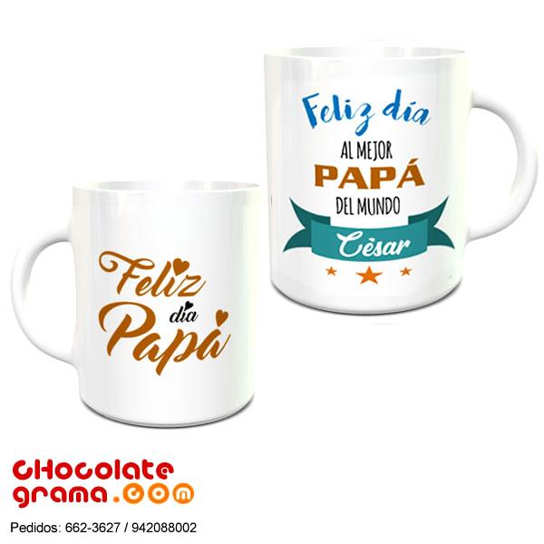 Tazas personalizadas dia del padre