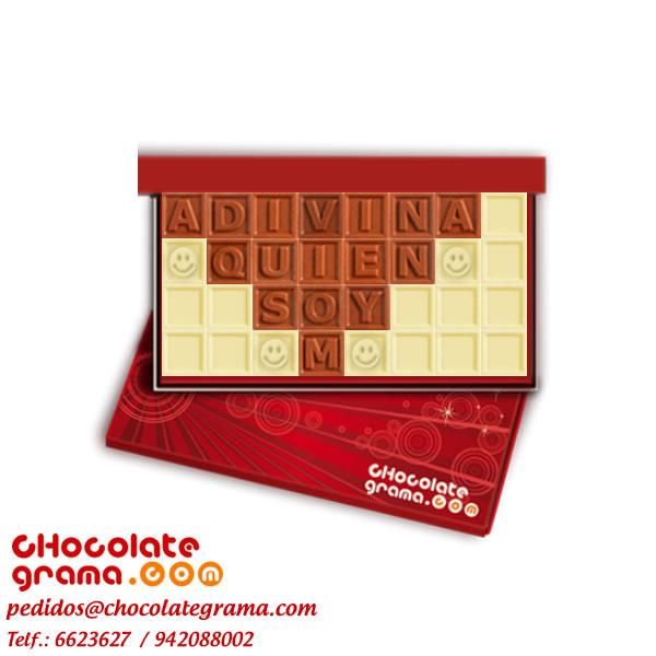 Regalos de amigo secreto, Chocolates personalizados, Chocolates con mensaje