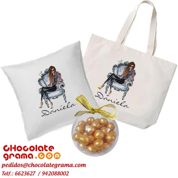 Regalos para navidad, bolsos personalizados, cojines personalizados, regalos para ella, delivery de regalos