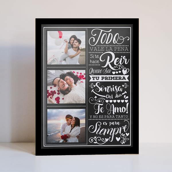 cuadros personalizados, cuadros de amor, cuadros para enamorados, cuadros de fotos peru, delivery