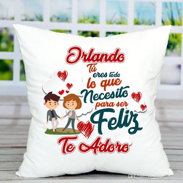 cojines personalizados, cojines de amor, cojines san valentin, delivery, lima, peru