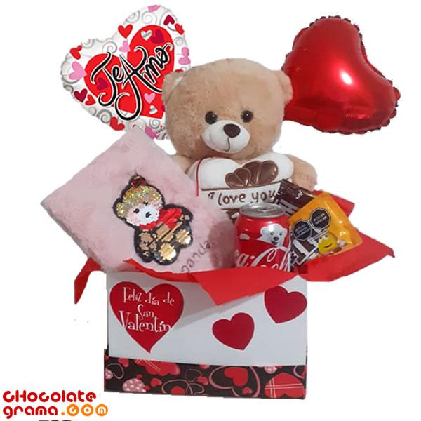 regalo de san valentin, regalos para enamorados, delivery de regalos, regalos para 14 de febrero, peluches, globos
