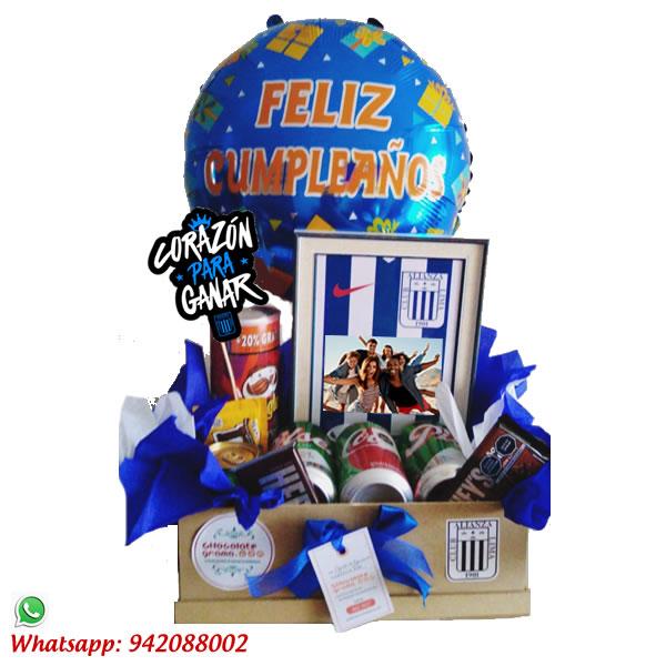 regalos para cumpleaños, delivery de regalos, regalos de alianza lima