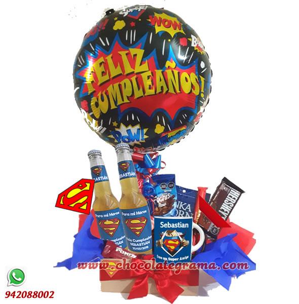regalos de cumpleaños, delivery de regalos, regalos de superman