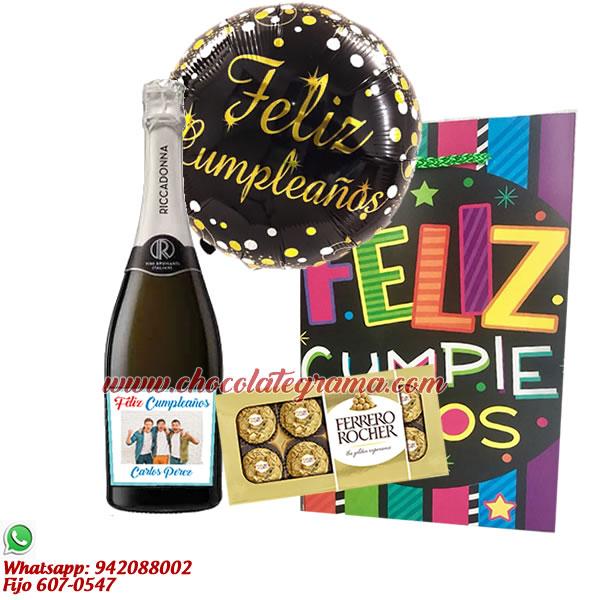 delivery de regalos, regalo para cumpleaños, regalo con ricaddonna