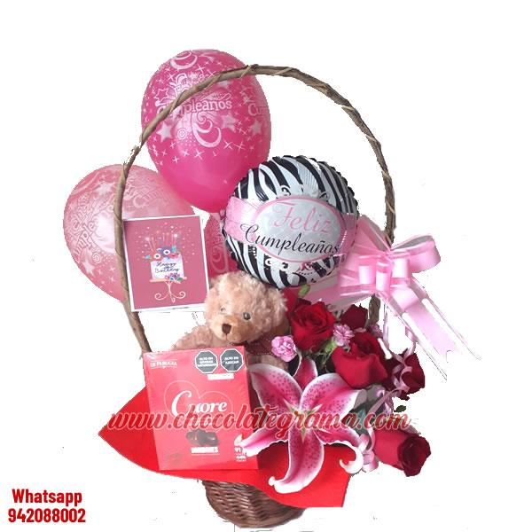 regalos para cumpleaños,  regalos para ella, combo cumpleaños, flores, peluches, chocolates, delivery