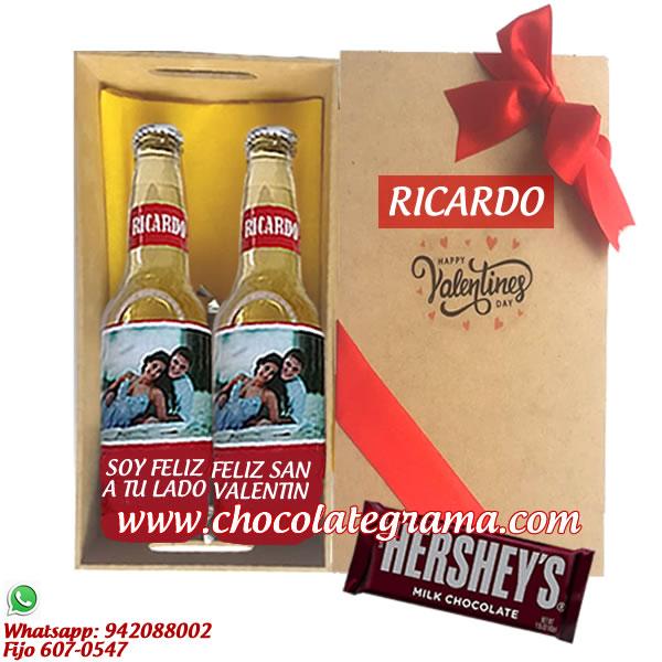 regalos para sna valentin, detalles de regalos, cervezas personalizadas