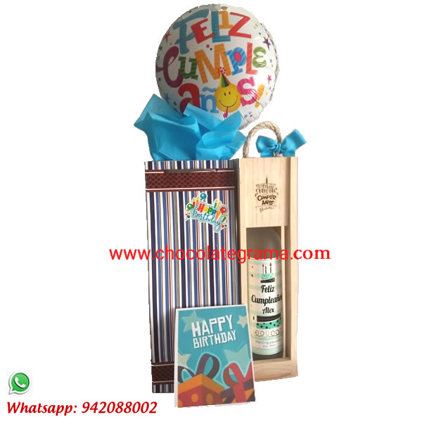 regalos de cumpleaños, piscos personalizados, detalles para cumpleaños, regalos cumpleaños para hombre, delivery de regalos.