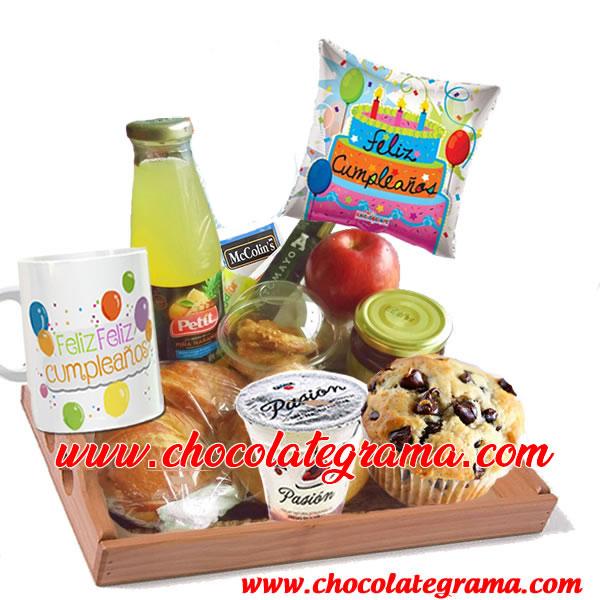 regalos para cumpleaños, desayuno cumpleañero, delivery desayuno,