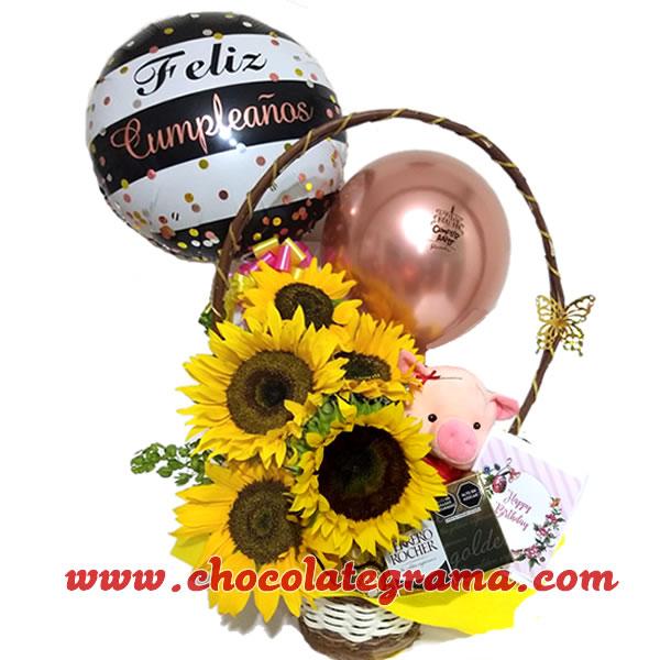 flores, regalos para cumpleaños